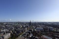 Blick vom St. Michel Hamburg